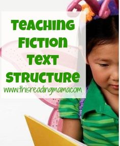 Teaching Fiction Text Structure Mini-Series - This Reading Mama Comprehension Strategies, Reading Strategies, Reading Skills, Teaching Reading, Reading Comprehension, Teaching Ideas, Learning, Pre Reading Activities, Reading Resources