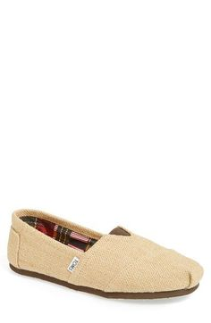 TOMS 'Classic' Burlap Slip-On   (Men) available at #Nordstrom