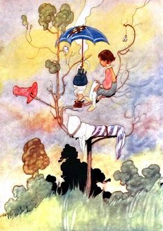 He Could Warm His Toes and Boil His Kettle Too - Charles Robinson's Picture Book