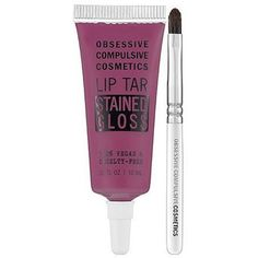 Obsessive Compulsive Cosmetics Obsessive Compulsive Cosmetics Matte... (68 HRK) ❤ liked on Polyvore featuring beauty products, makeup, lip makeup, purple, glossier makeup, polish makeup, paraben free makeup, paraben free cosmetics and lip gloss makeup