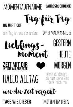 "#dpMonatsstempel AddOn zum #dpJanuarkit16 von www.danipeuss.de | Klartext Stempel ""Momentaufnahme"""