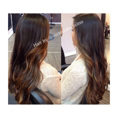 Balayage ombre hair love fashion hairstyles curls beauty