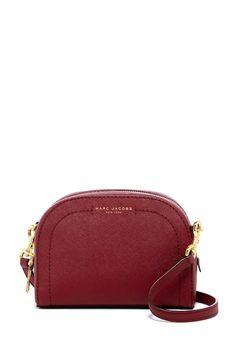 Marc Jacobs Playback Leather Crossbody Bag zinfandel $124.97 ($250) | Nordstrom Rack