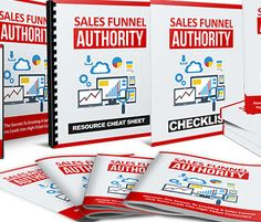 There's many ways of increasing sales. The most obvious way is to generate more traffic. You and I both know that. However, what's just as important is to make sure you have the right sales funnel in place. It will make a big difference to your bottom-line, but how do you get started? I just released a new product called 'Sales Funnel Authority' which is all about how to create a sales funnel that converts visitors into high-ticket custom