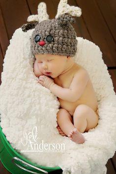 Cherub Chic- Reindeer Hats