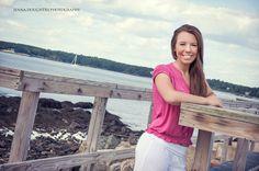 High School Senior Portraits - Beach - New Hampshire - Maine   www.jennadoughtry.com