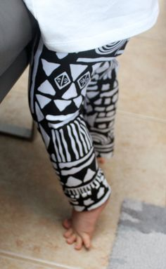 Baby Aztec Leggings on Etsy, $19.00