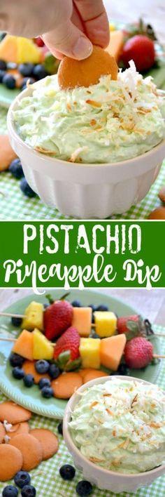 Pistachio Pineapple Dip