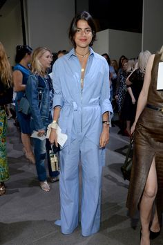 Celebrity Outfit Ideas Straight From New York Fashion Week - Leandra Medine New York Fashion Week - Leandra Medine, Celebrity Outfits, Celebrity Look, Celeb Style, Mode Chic, Street Chic, Paris Street, Look Cool, New York Fashion