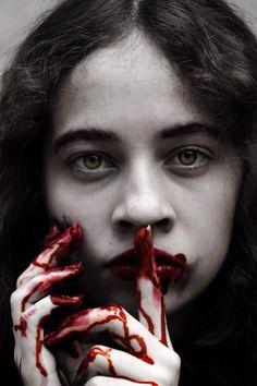 Bloody Blood, Halloween Face Makeup, Photography, Photograph, Fotografie, Photoshoot, Fotografia