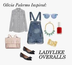 P.S. I'm from the Midwest // Summer Outfit // Overalls // Olivia Palermo inspired