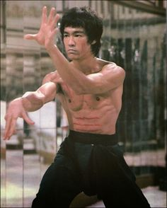 Bruce Lee, the Dragon himself