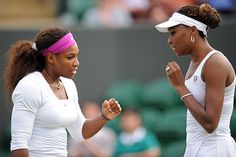 Today at Wimbledon -- Williams sisters to vie for their 6th doubles crown at Wimbledon after routing fellow Americans Lisa Raymond and Liezel Huber. I expect they'll be taking home gold from the 2012 Olympics as well, since it'll be played in the same place...