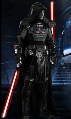 Star Wars - Starkiller by Melciah Rpg Star Wars, Star Wars Sith, Star Wars Pictures, Star Wars Images, Darth Starkiller, Star Wars Unleashed, Sith Warrior, Star Wars Personajes, Star Wars The Old