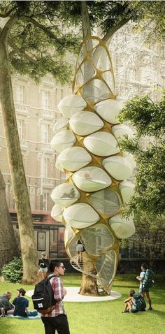 Triumph Architectural Treehouse Award 2014 - Futuristic Architecture ♠ re-pinned by http://www.wfpblogs.com/category/toms-blog/