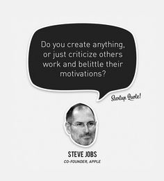 Do you create anything?