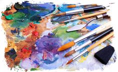 """No Photoshop? No Problem: 10 Visual Content Tools for Beginners"" by Rachel Sprung Art Therapy Directives, Art Therapy Activities, Play Therapy, Therapy Ideas, Artist Brush, Expressive Art, No Photoshop, Teaching Art, Art Techniques"