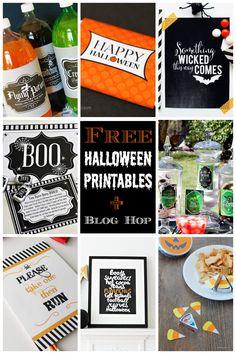 8 Free Printable Halloween Party Ideas. LivingLocurto.com