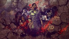 The Walking Dead  background