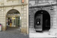 Porte Cochere, Lausanne, Date, Bel Air, Vintage Posters, Switzerland, Restaurant, Places, Pictures