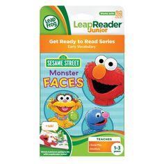 LeapFrog Tag LeapReader Junior Sesame Street Monster Faces