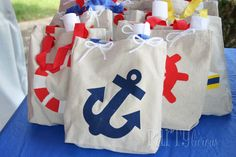 Nautical Party favors
