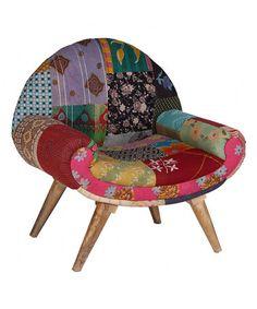 Love this Crimson & Fuchsia Bohemian Trail Chair on #zulily! #zulilyfinds