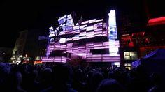 Eröffnung Medienfassade Klubhaus St. Pauli - Opening event media facade ...