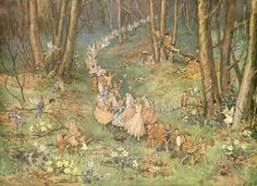 The Fairy Way - Margaret W. Tarrant