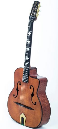 JWC Guitars (Jeongwoo Cho) Catania Swing --- https://www.pinterest.com/lardyfatboy/