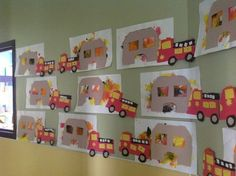 fire truck craft idea for preschoolers (1)  |   Crafts and Worksheets for Preschool,Toddler and Kindergarten