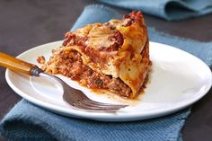 The easiest lasagna ever includes three kinds of cheese simmered with spaghetti sauce and ground beef. Just one more reason to love your slow cooker!