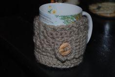 Coffee mug cozy by Nogginsandnapes on Etsy, $10.00