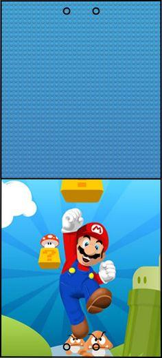 Kit digital para impressão Super Mario Bros Super Mario Bros, Super Mario Party, Mario Y Luigi, Mario Kart, Christmas Scenes, 1st Christmas, Mario Crafts, Peach Mario, Comic Party