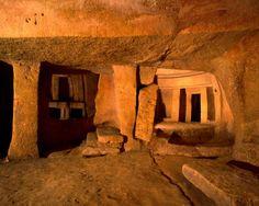Hal Saflieni Hypogeum - Paola, Malta - http://www.dailygrail.com/Hidden-History/2016/1/Archaeoacoustics-Listening-the-Sounds-History