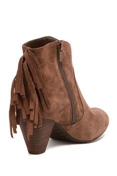 d8723da2d5b Octave2 Fringe Ankle Boot Fringe Ankle Boots