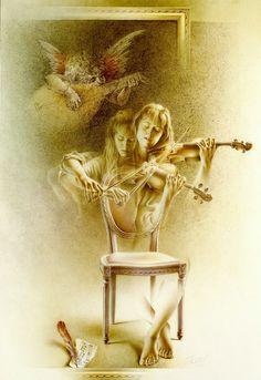 Poen de Wijs 1992 Etude for Violin and Angel