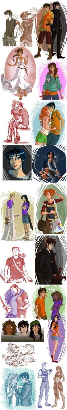 Dump Time... by juliajm15 on deviantART. Everybody!  Heroes of Olympus.