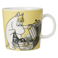 Moomin Mugs. Arabia Finland with beloved Finnish characters Nordic Home, Scandinavian Home, Moomin Mugs, Tove Jansson, Cute Mugs, Little My, Marimekko, My Collection, Kitchenaid