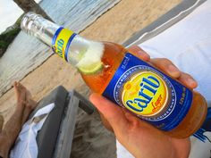 Easy drinking lager from Trinidad and Tobago.