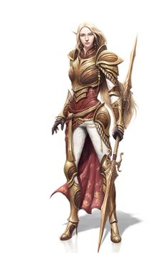 The Elf Queen's Lancers project her will into the world.  The High Elf military…