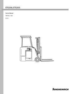 Still Electric Lift Truck Type R50-10, R50-12, R50-15, R50