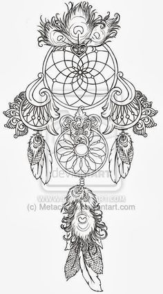 Women Tattoos Design: Dreamcatcher tattoos ideas images for girl and women