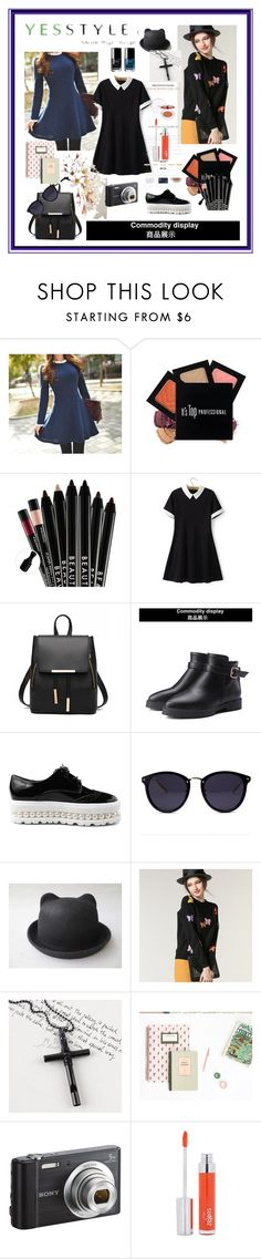 """""""YesStyle"""" by explorer-14673103603 on Polyvore featuring Queen Bee, Chicsense, JY Shoes, Hats 'n' Tales, Trend Cool, Sony, Chanel and Zelens"""