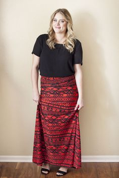 Honey and Lace Moulin Rouge Maxi