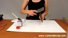 Finition des tranches de Cuir à chaud - www.cuirtextilecrea.com