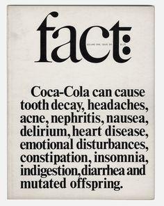 Herb Lubalin - Fact magazine 2