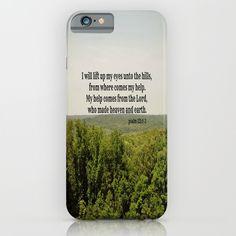 Psalm+121:1-2++iPhone+&+iPod+Case+by+KimberosePhotography+-+$35.00
