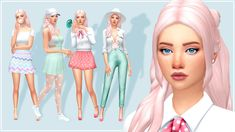 CC list and CAS video can. Sims 4 Cc Folder, Sims 4 Dresses, Play Sims, Sims 4 Characters, Sims 4 Mm Cc, Sims 4 Cas, Sims 4 Cc Finds, Sims 4 Clothing, Sims Mods