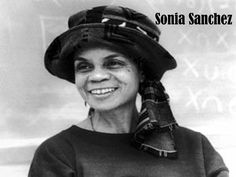 """Morning Haiku By Sonia Sanchez (pictured here) - Books Worth Reading - Funk Gumbo Radio: http://www.live365.com/stations/sirhobson and """"Like"""" us at: https://www.facebook.com/FUNKGUMBORADIO  - epublicitypr.com"""